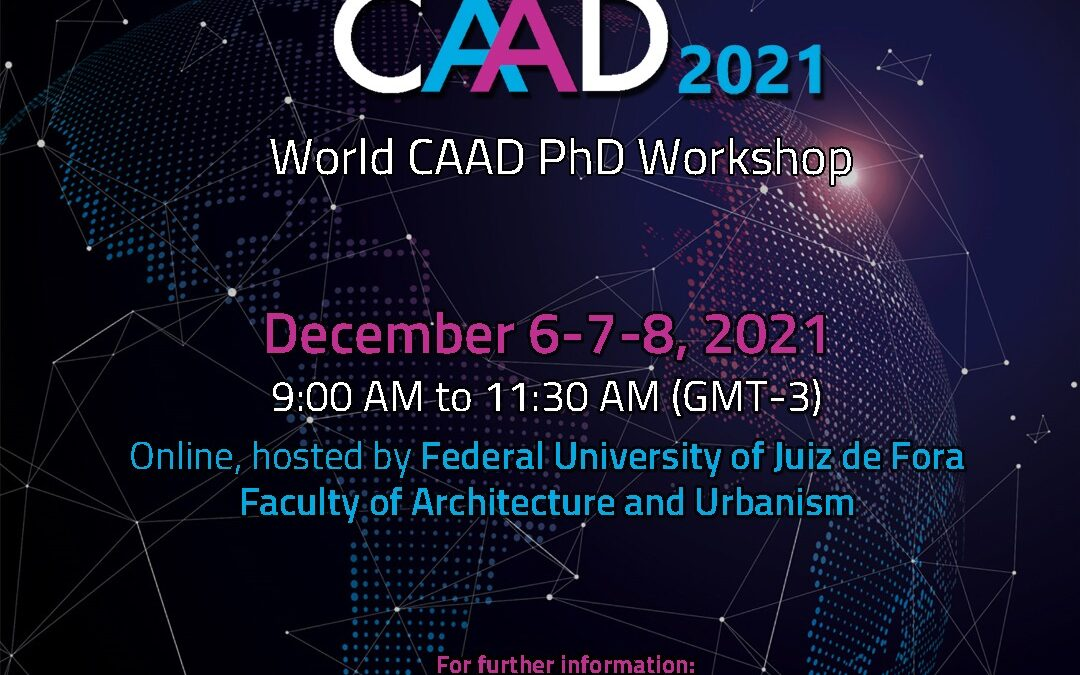 World CAAD P.h.D. Workshop